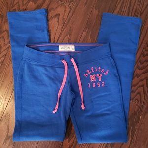 Abercrombie kids sweat pants